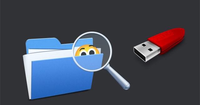 Cách hiện file ẩn, thư mục ẩn trong USB