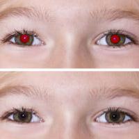 Loại bỏ hiện tượng mắt đỏ trong các bức ảnh