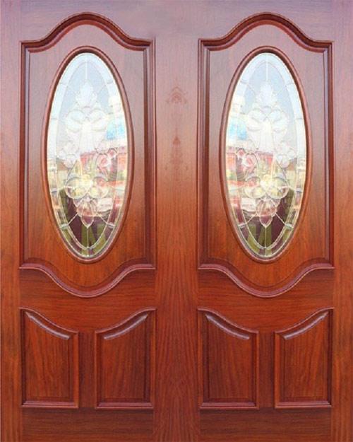 Mẫu cửa gỗ 2 cánh đẹp 11