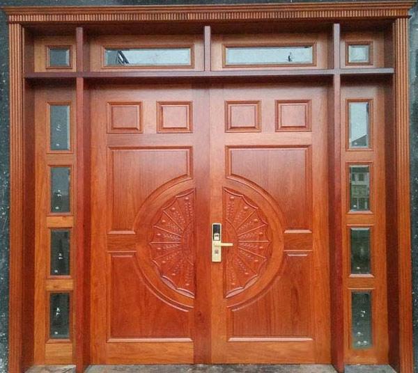 Mẫu cửa gỗ 2 cánh đẹp 2