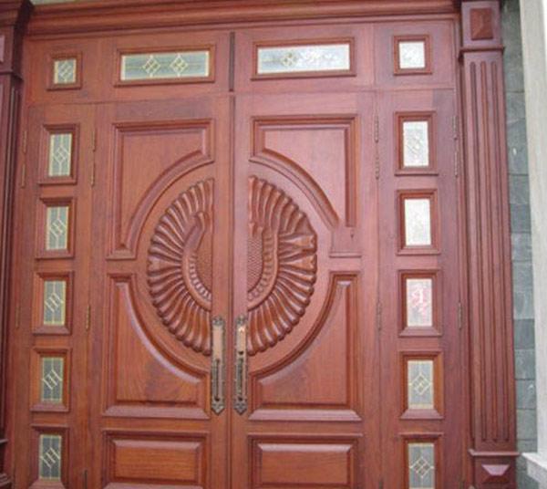 Mẫu cửa gỗ 2 cánh đẹp 6