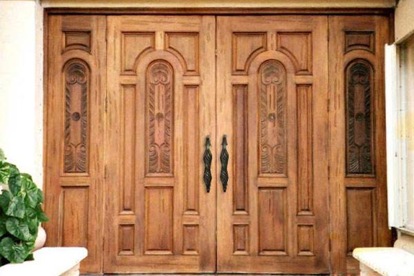 Mẫu cửa gỗ 4 cánh đẹp 4
