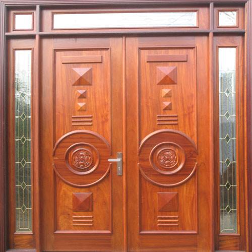 Mẫu cửa gỗ 4 cánh đẹp 9
