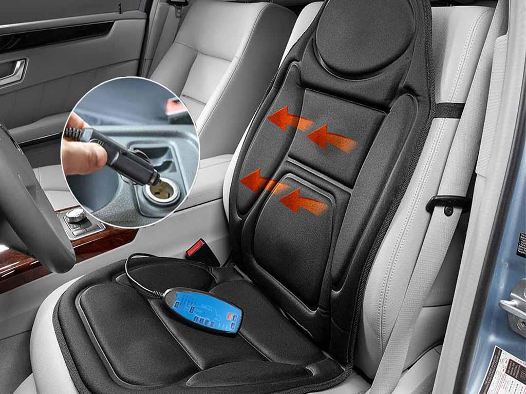 Đệm massage có thể dùng được cả trên ô tô