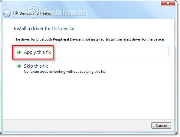 Chọn mục Apply this fix để sửa lỗi