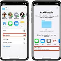 Cách chia sẻ thư mục iCloud trên iPhone và iPad