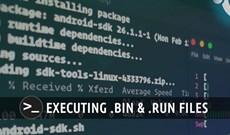 Cách thực thi gói .run hoặc .bin trong Linux