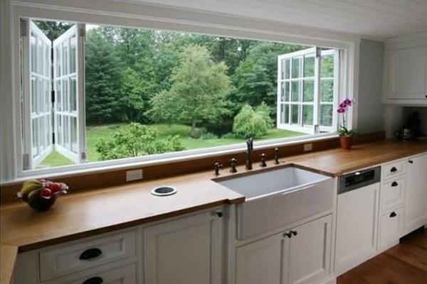 Cửa sổ phòng bếp đẹp  4