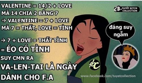 Một bài toán khá logic về Valentine 14-2 được giải theo phương pháp bắc cầu của các FA