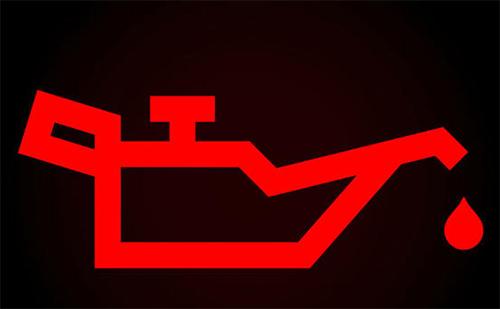 Câu hỏi 15: Khi động cơ ô tô đã khởi động, bảng đồng hồ xuất hiện ký hiệu như hình vẽ dưới đây, báo hiệu tình trạng như thế nào của xe ôtô?