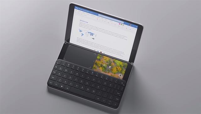 WonderBar là khu vực nằm phía trên bàn phím cứng hoặc ảo