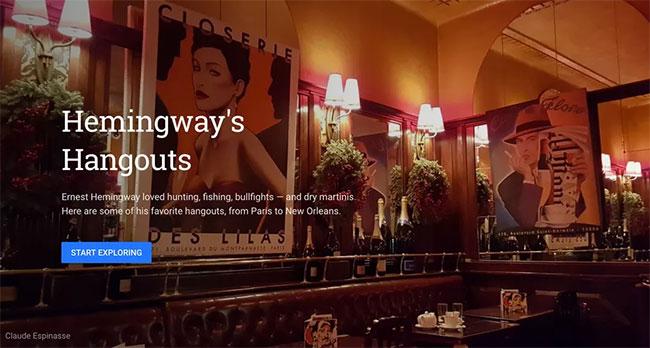 Tham quan nơi Hemingway cho ra đời những kiệt tác
