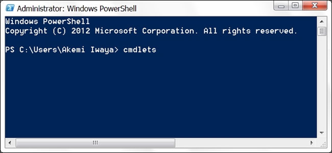 Cmdlet trong PowerShell