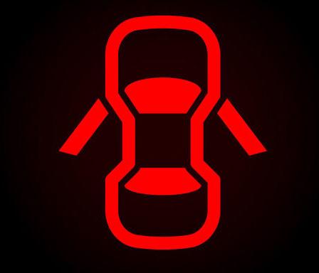 Câu hỏi 15: Khi động cơ ô tô đã khởi động, bảng đồng hồ xuất hiện ký hiệu như hình vẽ dưới đây, báo hiệu tình trạng như thế nào của xe ôt ô?