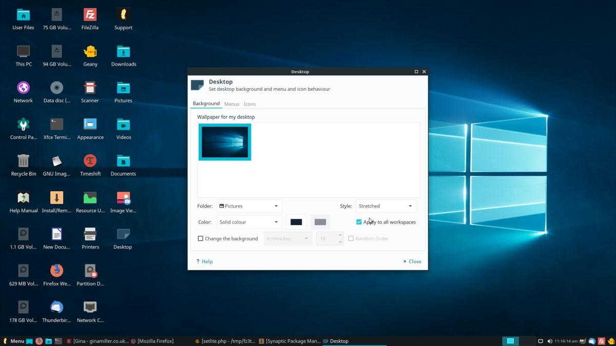 Giao diện Windows 12 Lite được quảng cáo