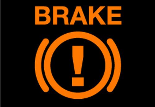 Câu hỏi 14: Khi động cơ ô tô đã khởi động, bảng đồng hồ xuất hiện ký hiệu như hình vẽ dưới đây báo hiệu tình trạng như thế nào của xe ô tô?