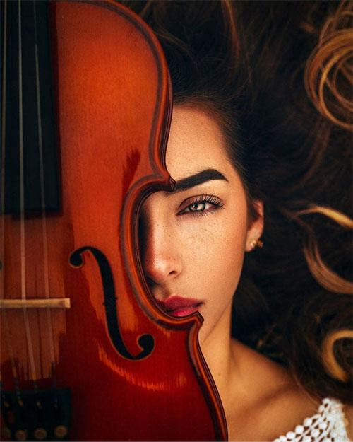 Cô gái và cây vĩ cầm