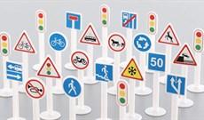 Biển báo giao thông: Các loại biển báo cấm, biển chỉ dẫn, biển báo nguy hiểm, biển báo phụ, vạch kẻ đường