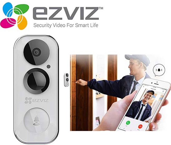 Chuông cửa thông minh Ezviz DB1 CS-DB1-A0-1B3WPFR
