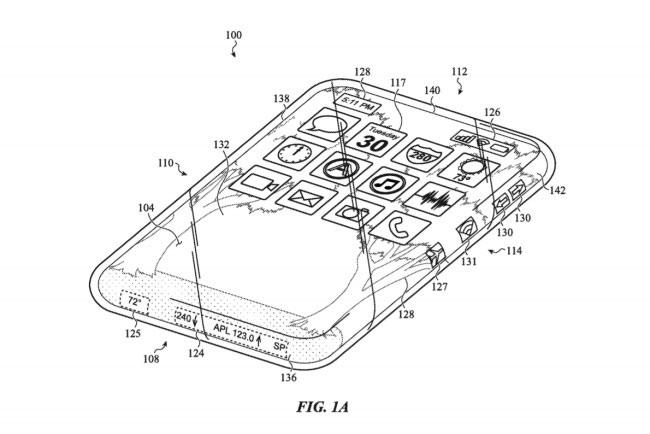 Sáng chế thiết bị có 6 màn hình cảm ứng của Apple. Ảnh: TechRadar.