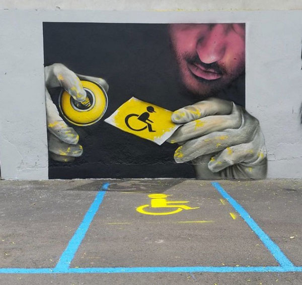 Ảnh nghệ thuật đường phố sáng tạo 5