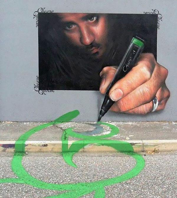 Ảnh nghệ thuật đường phố sáng tạo 10