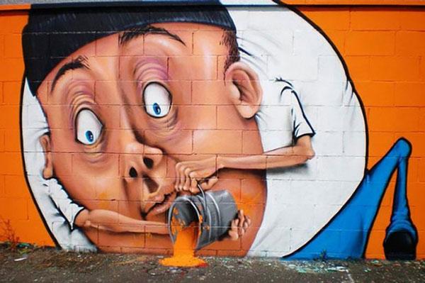 Ảnh nghệ thuật đường phố sáng tạo 7
