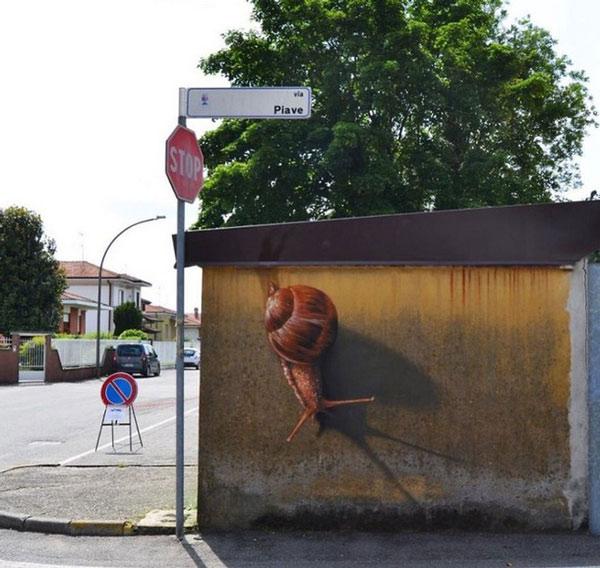 Ảnh nghệ thuật đường phố sáng tạo 3
