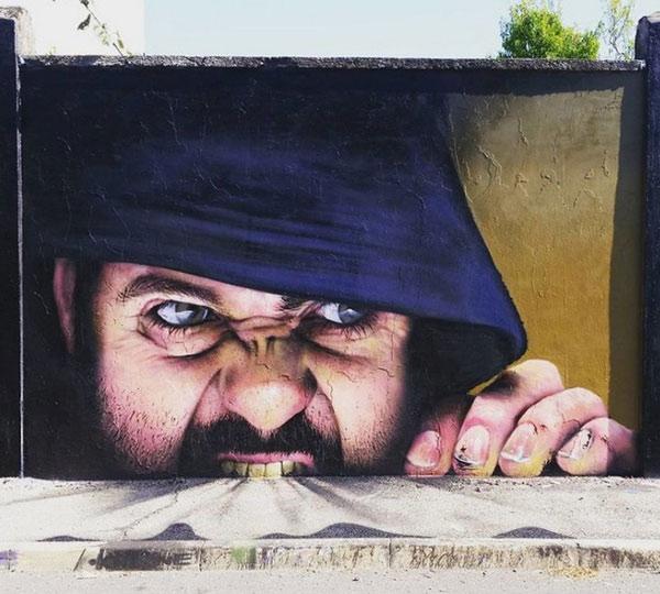 Ảnh nghệ thuật đường phố sáng tạo 8