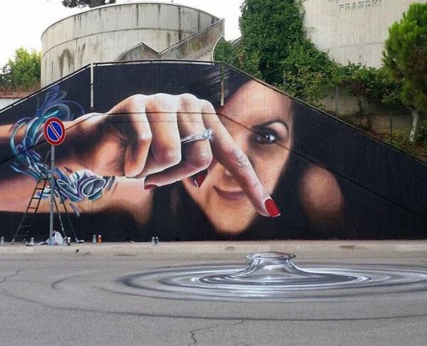 Ảnh nghệ thuật đường phố sáng tạo 6