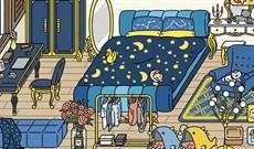 Các mẫu trang trí phòng ngủ, trang trí Bedroom Adorable Home