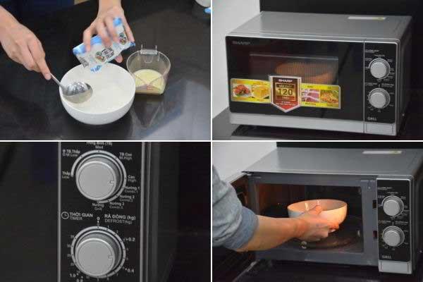 Cách làm sữa chua Hy Lạp bằng lò vi sóng