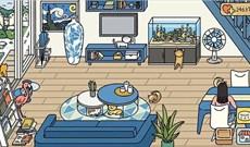 Các mẫu trang trí phòng khách Adorable Home đẹp