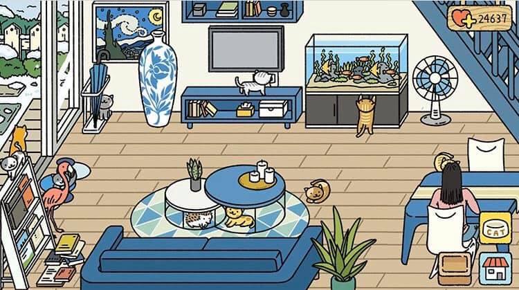 phòng khách adorable home