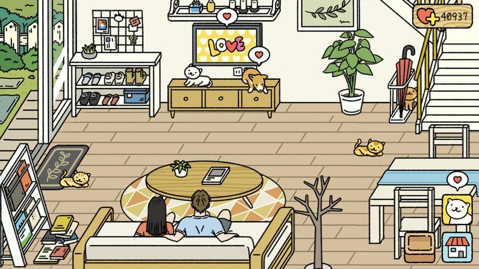 phòng khách đẹp adorable home