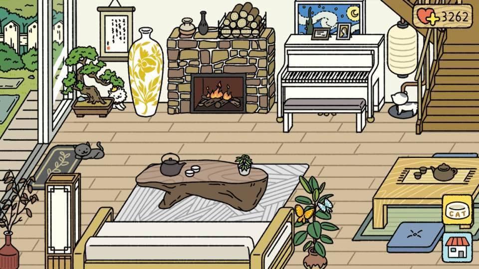 trang trí phòng khách adorable home