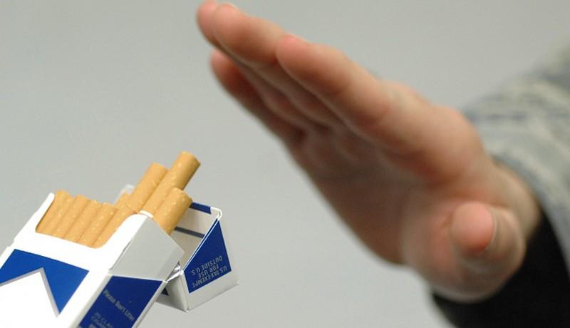 Tuyệt đối không hút thuốc