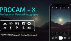 Mời tải ProCam X, ứng dụng biến điện thoại của bạn thành máy ảnh chuyên nghiệp, đang miễn phí