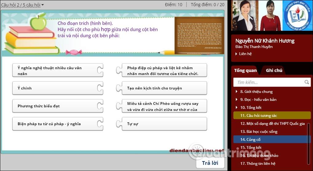 Học trực tuyến trên Kho bài giảng e-Learning - Ảnh minh hoạ 3