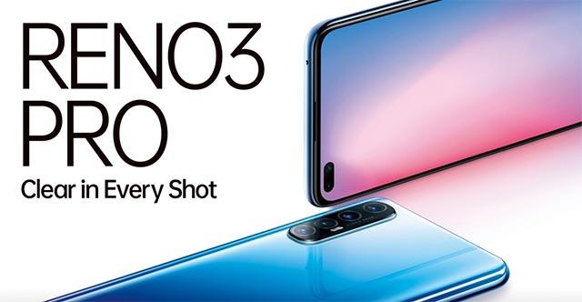 Oppo Reno3 Pro với khả năng chụp ảnh tiên tiến