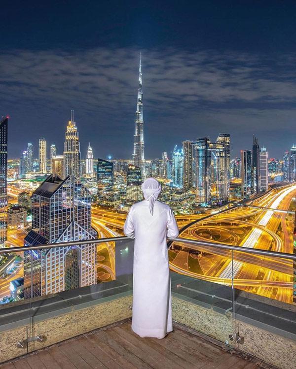 Dubai sẽ trở nên rực sáng tuyệt đẹp khi màn đêm buông xuống