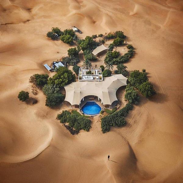 Một khu nghỉ dưỡng đẳng cấp mọc lên giữa sa mạc Dubai như một hòn đảo nhỏ 2