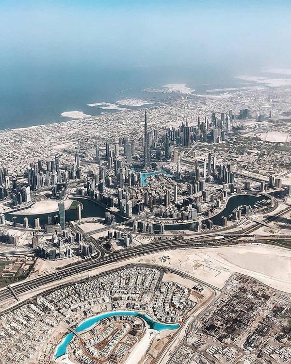 Những tòa nhà cao tầng và công trình kiến trúc tại Dubai
