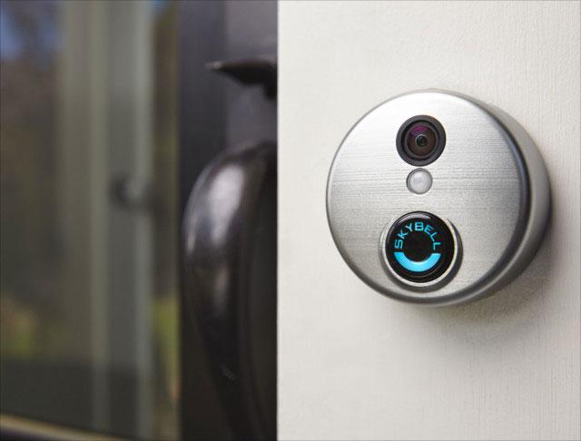 Chuông cửa thông minh SkyBell HD Silver WiFi Video Doorbell