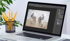 Cách tạo hiệu ứng film, ảnh xước trên Photoshop