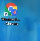 Bạn sẽ thấy một shortcut Chrome dành riêng cho profile