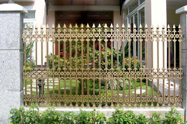 Hàng rào sắt nghệ thuật 3