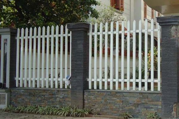 Hàng rào sắt hộp 2