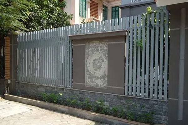 Hàng rào sắt hộp 8