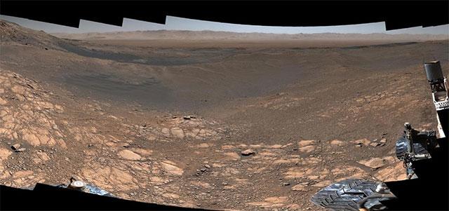 Ảnh tổng hợp toàn ảnh mới nhất về sao Hỏa